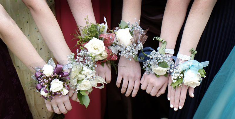 Corsage-Flowers-